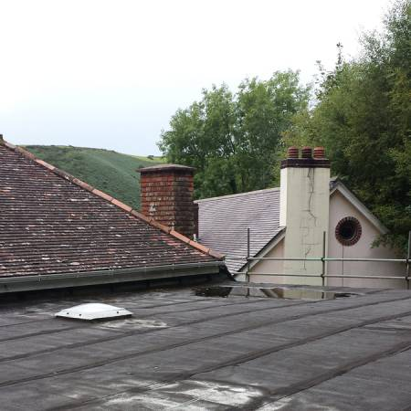 Renovating the Roof at Heddon's Gate